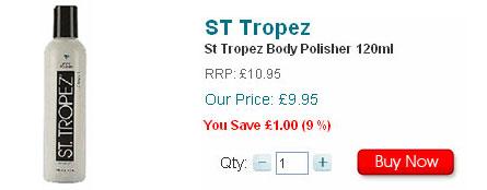 St Tropez Body Polisher