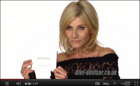 Michelle Collins Uses EyeSecrets